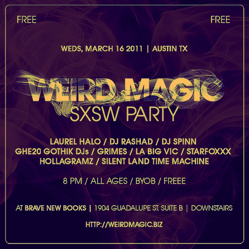WEIRD MAGIC TAKES ON SXSW