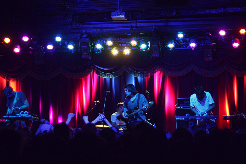 photos: delorean @ brooklyn bowl